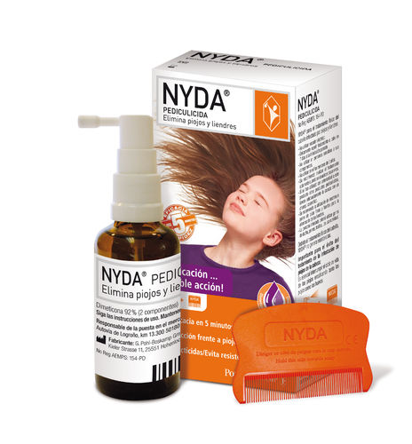 NYDA PEDICULICIDA CASEN 50 ML
