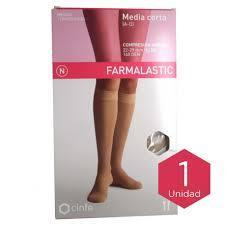 MEDIA CORTA A-D COMP NORMAL FARMALASTIC BEIGE TGDE