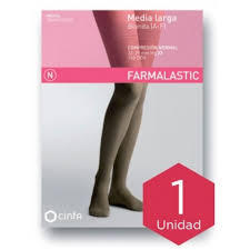 MEDIA LARGA A-F COMP NORMAL FARMALASTIC BLONDA BEIGE TEGDE