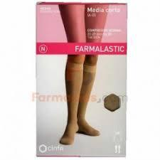 PANTY COMP NORMAL 140 DEN FARMALASTIC NEGRO TMED
