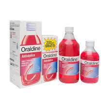 ORALDINE COLUTORIO 400 ML + 200ML REGALO