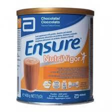 ENSURE NUTRIVIGOR CHOCOLATE LATA 850 GR